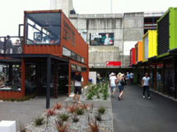Container Shops in ChCh